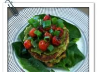 Carrot & Zuc Fritters Thermomix