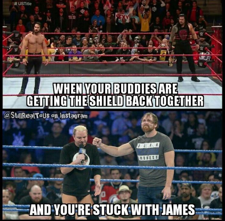 James Ellsworth and Dean Ambrose are the only team we need.