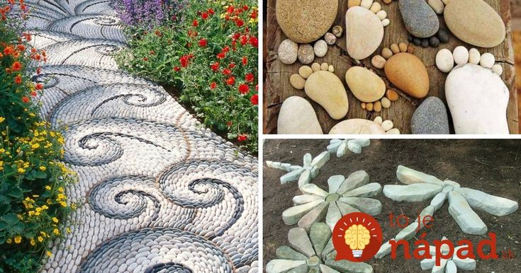 Prinášame vám 33 krásnych inšpirácií, ako skrášliť záhradu pomocou obyčajných kameňov.