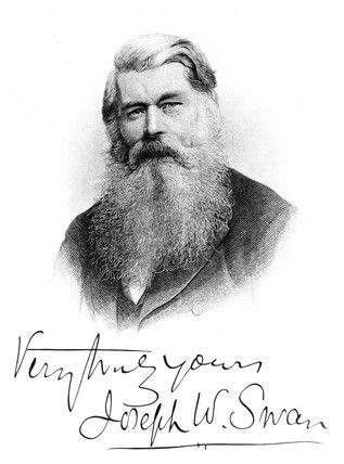 Sir Joseph Wilson Swan, scientist and inventor, c 1900.