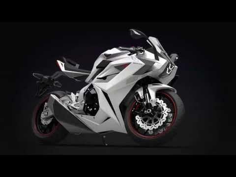 This 2015 Chak Motors Motorcycle Looks Like It Was Designed By Lamborghini (Video)