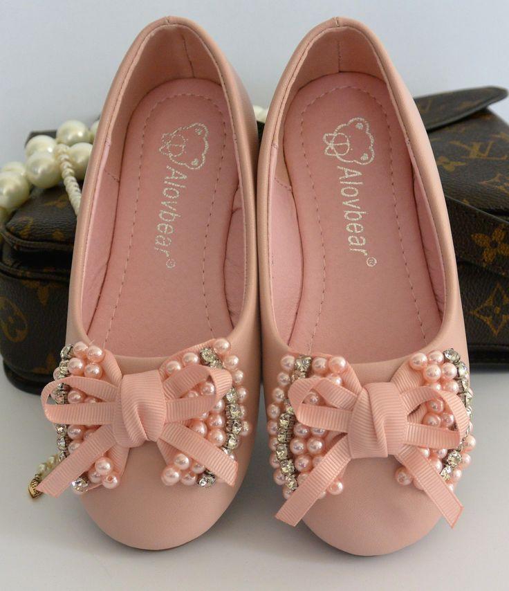 Blush Pink Flat Shoes