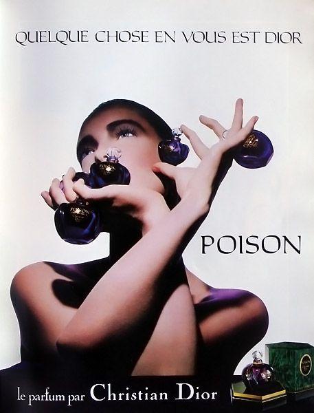 Publicité du parfum Poison