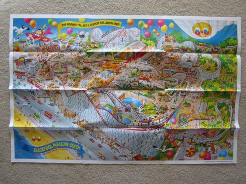 994aeeb78312d5e0d4193648e98d45d0 Map Of Blackpool Pleasure Beach on map of bay beach amusement park, map of santa cruz beach boardwalk, map of blackpool illuminations, map of blackpool north,