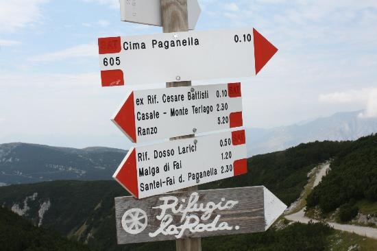 Rifugio La Roda restaurant  Cima Paganella, Andalo, Italy