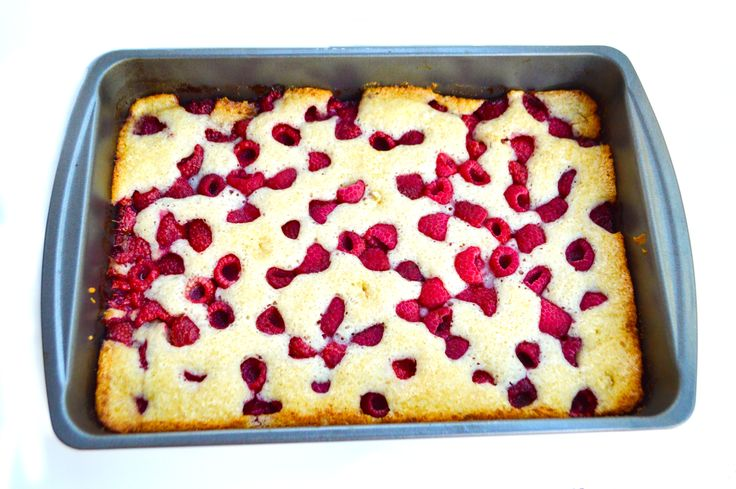 Raspberry Cobbler Recipe!! #cobblerrecipes