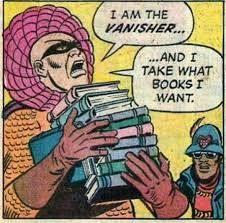 I take what books I want