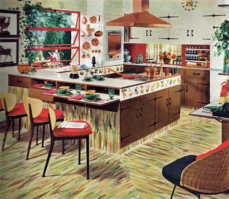 Retro Linoleum Kitchen Flooring: 135 Best Images About Retro Ads On Pinterest