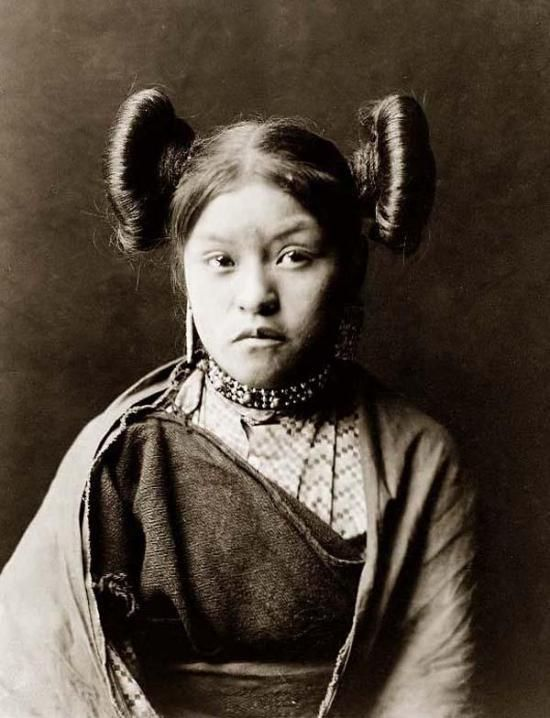 13 best images about Native American Hair Styles on Pinterest
