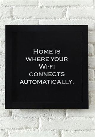 Home is... where your wifi connects automatically!