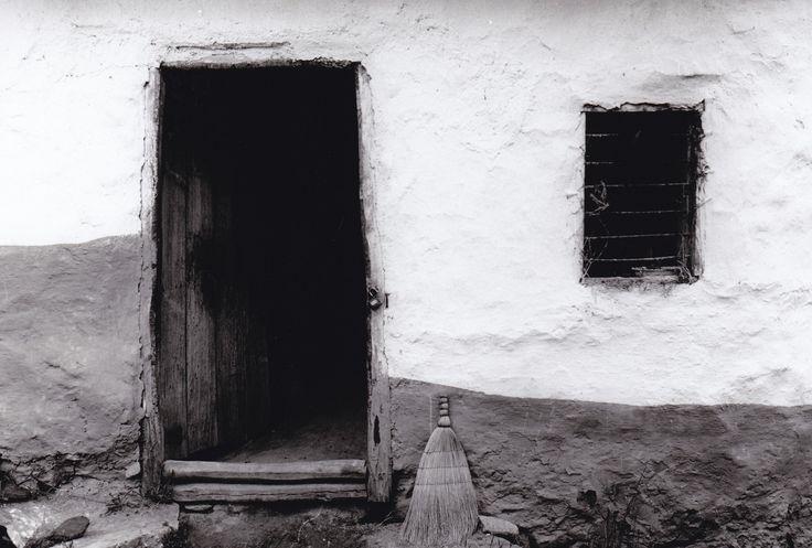 Kitchen doorway.