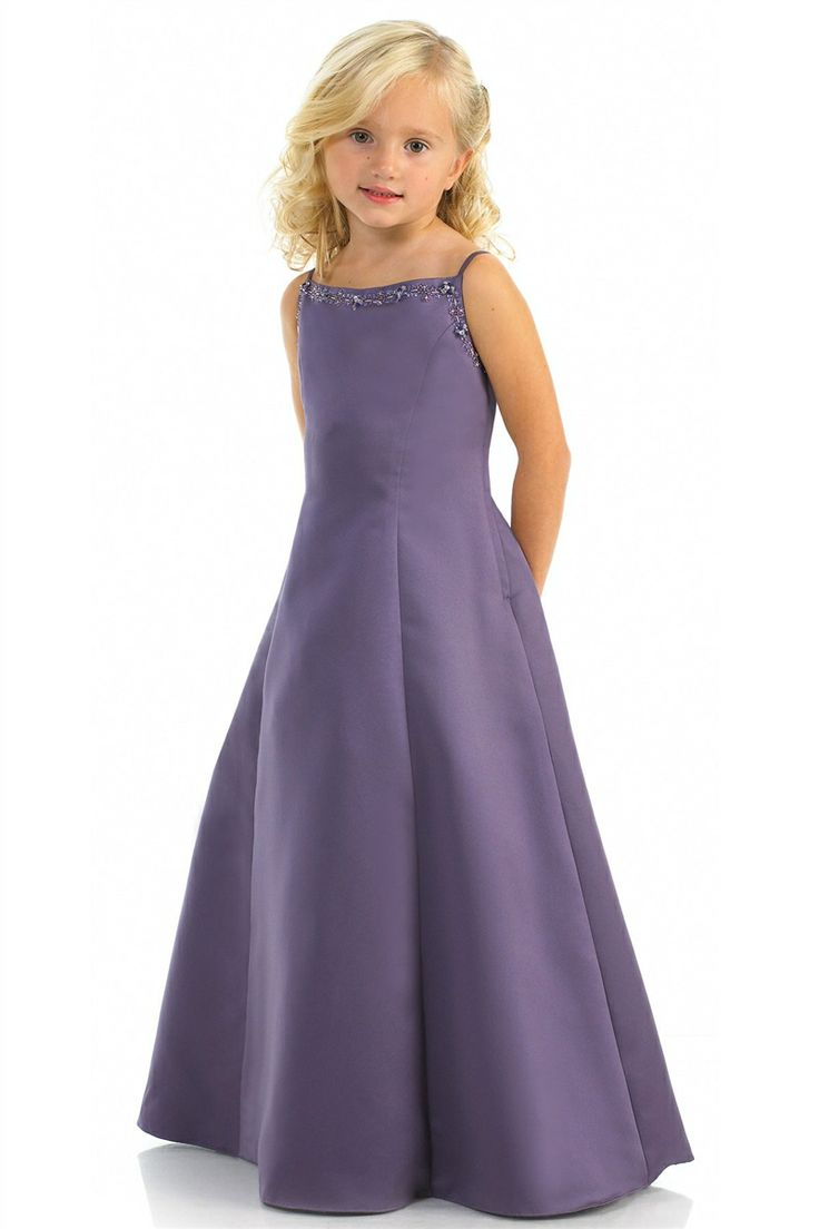 32 best junior bridesmaid dresses images on pinterest girls junior satin spaghetti straps a line natural waist long bridesmaid dress ombrellifo Images