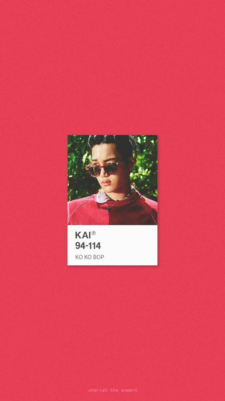 KAI WALLPAPER . #KoKoBop #TheWarEXO © Cherish the moment