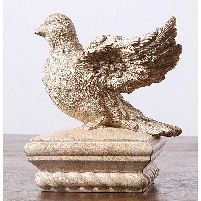 Bird Sculpture Fence Post Cap