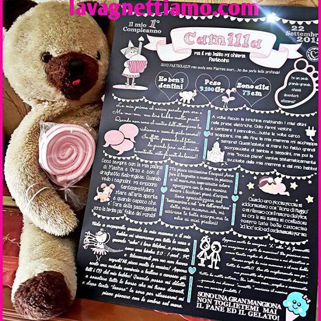#lavagnettiamo #lavagnettiamo@gmail.com #solocosebelle #love #chalkboard #chalkboardart #art #roma #rome #madeinrome #madeinitaly #italy #italianstyle #italygram #italyiloveyou #etsy #etsyteam #etsyelite #amore Una nuova lavagnona per una gnometta che compie il suo primo anno! #lavagna #lavagnettepersonalizzate #lavagnetta #compleanno #babygirl #bday #birthday #birthdaygirl #buoncompleanno Camilla!