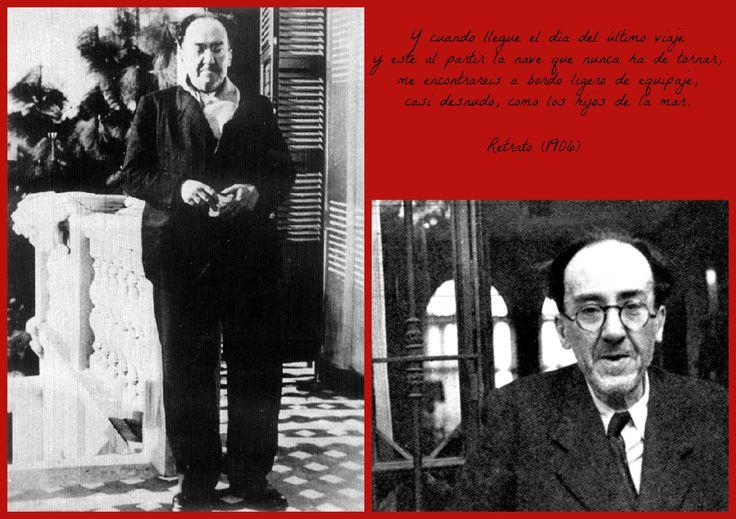 Antonio Machado poco antes de su viaje forzoso a Francia.