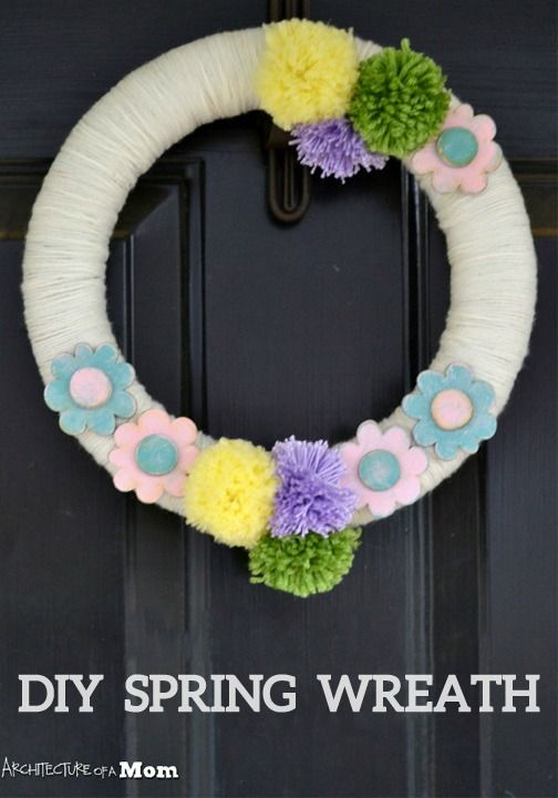 28 best spring crafts for adults images on pinterest for Spring craft ideas for adults