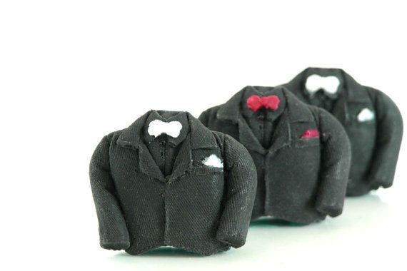 3 Tuxedo Soaps For Bachelor Party, Wedding Party, Fathers Day Gift
