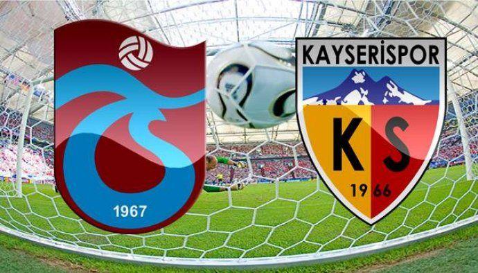 Mucadele Adi Trabzonspor Kayserispor Tarih 7 Nisan 2018