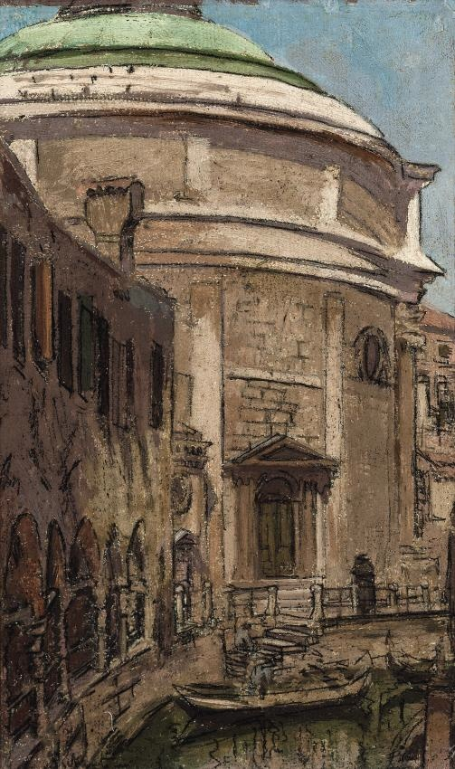 Step Into: Walter Sickert's 'Church Of The Maddalena, Venice'  www.cookintuscany.com