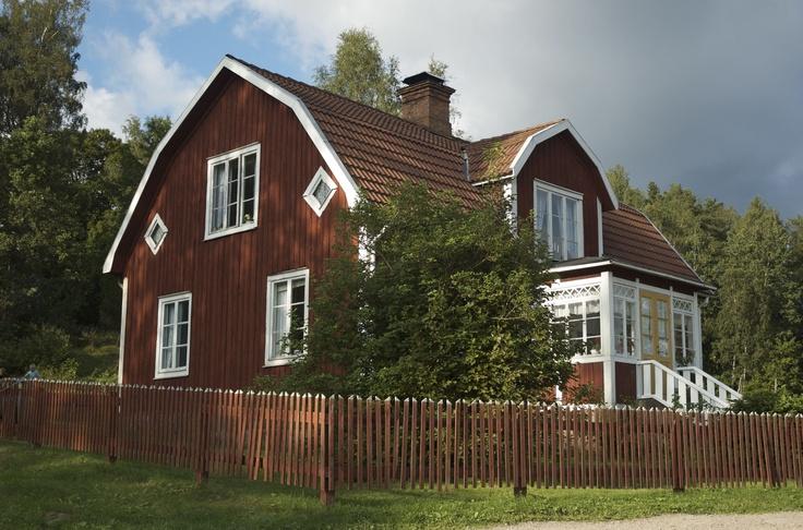 La casa di Pippi!  Stoccolma. A casa di Pippi Calzelunghe