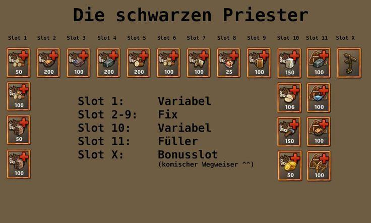DIe schwarzen Priester - DSP Siedler Mini AT Alle Mini AT Loots auf: http://www.zwergenstadt.com/siedler/dso-mini-abenteuer-loots.php