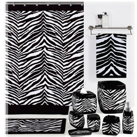 Best Wild Thang ZEBRA PRINT Images On Pinterest Zebra Print - Zebra bath towels for small bathroom ideas