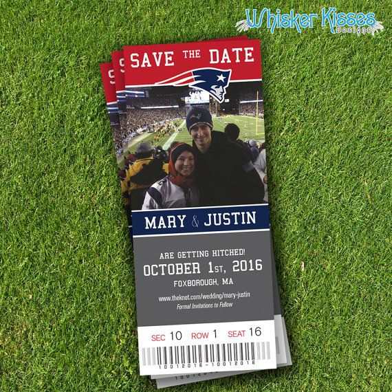 Sports Save-The-Date Save-The-Date-Magnet by WhiskerKissesDesigns