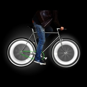Bike Wheel Lights White, $20, now featured on Fab.