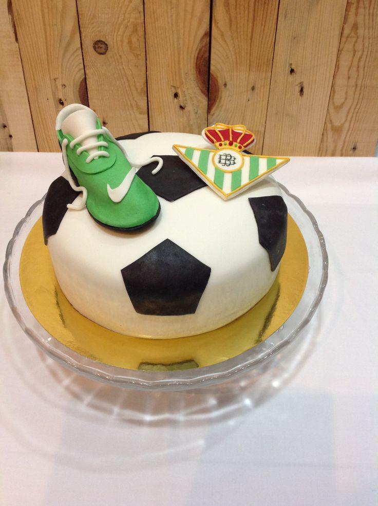 Soccer cake Real Betis Balompie