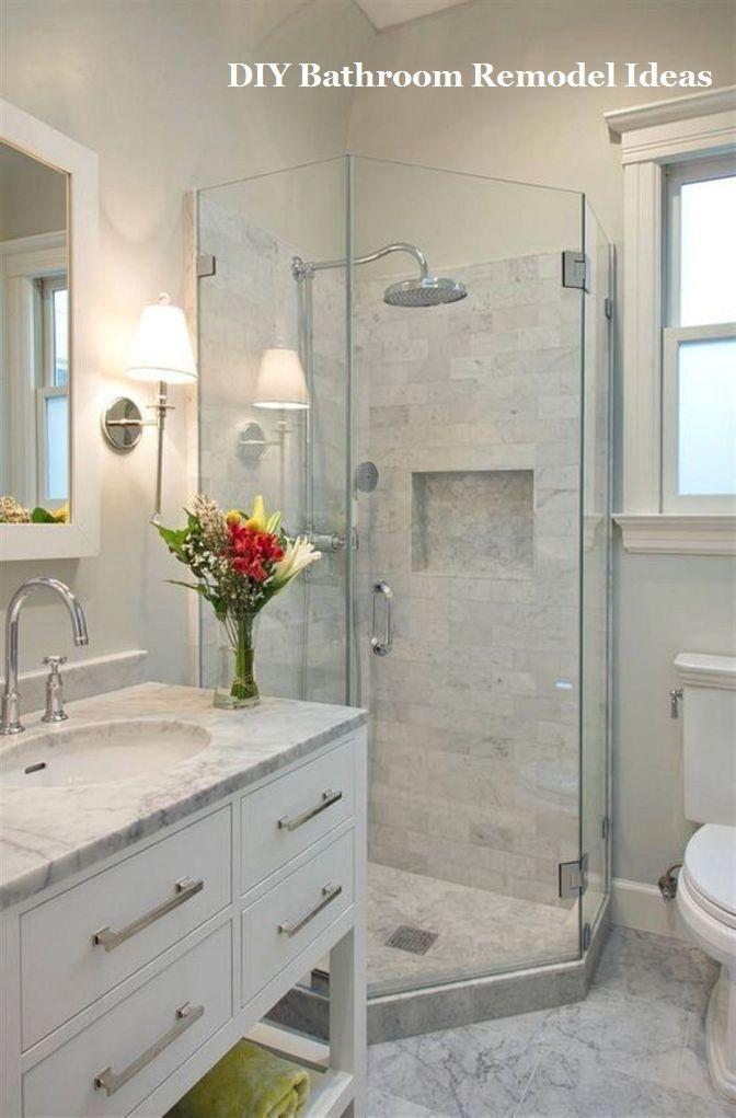 15 Incredible Ideas For Bathroom Makeover 4 With Images Cheap Bathroom Remodel Restroom Remodel Bathroom Remodel Shower