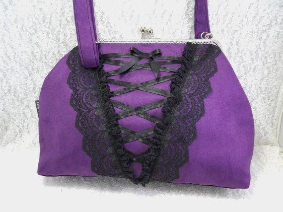 Sac Glamour Victorien corset guêpière Victorian  purse par huguet, $89.00