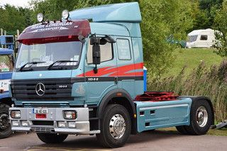 Mark Lonergan Mercedes Benz 1844 96-WD-6011