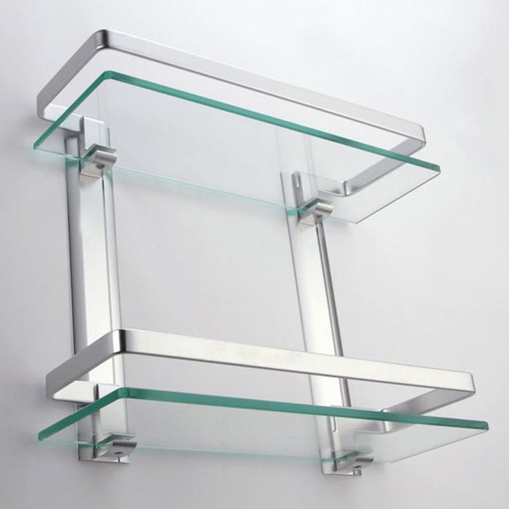 small glass bathroom shelves | My Web Value