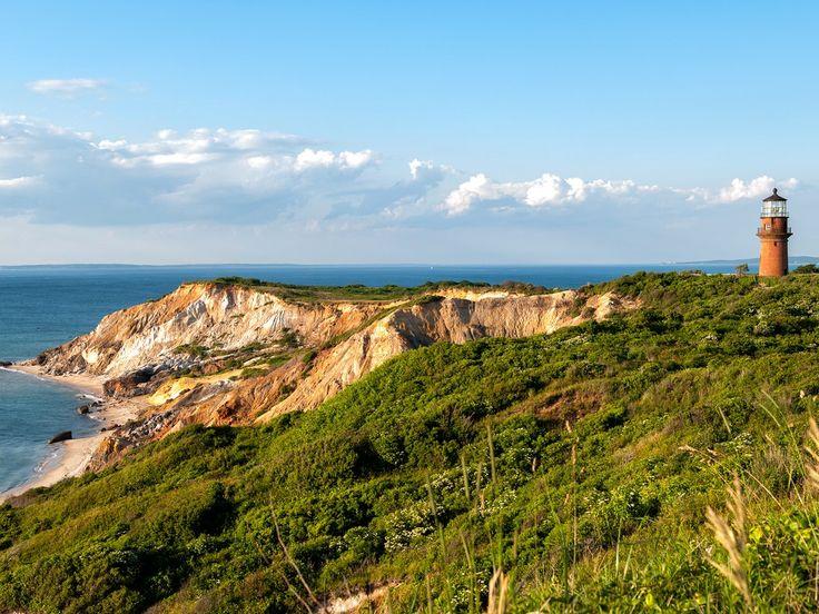 Massachusetts: Gay Head Light and Aquinnah Cliffs, Martha's Vineyard Getty