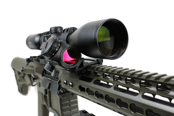 Primary Arms Micro Red Dot Sight Riding In Our 45 Degree