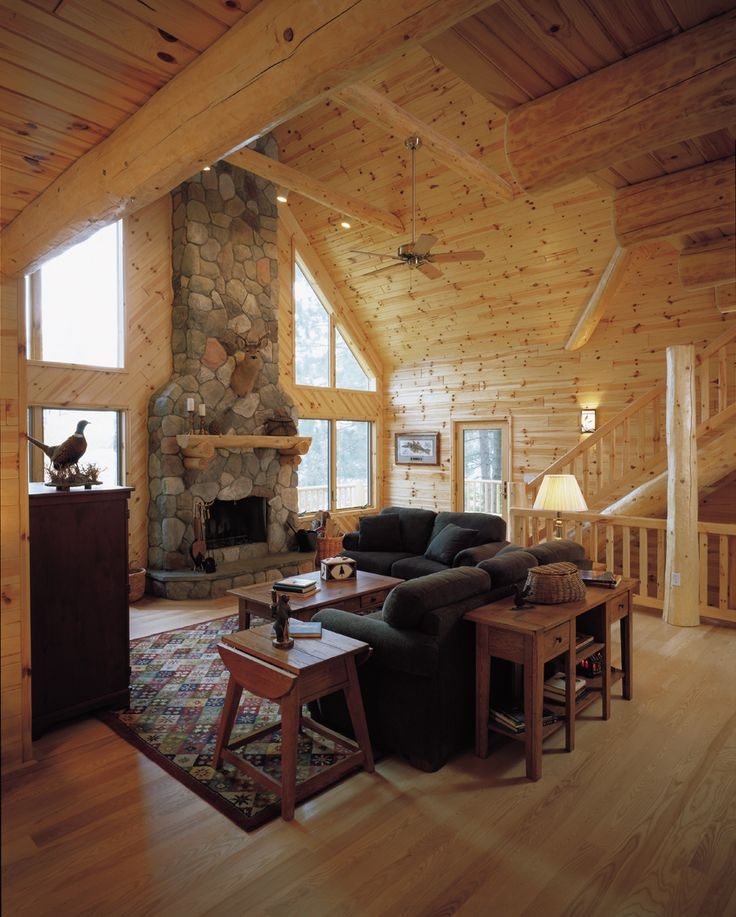tongue and groove pine walls decorating - Google Search