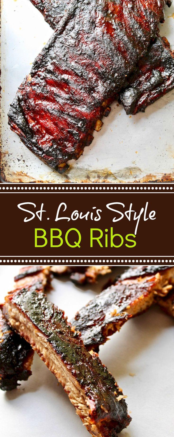 St. Louis Style BBQ Pork Spareribs