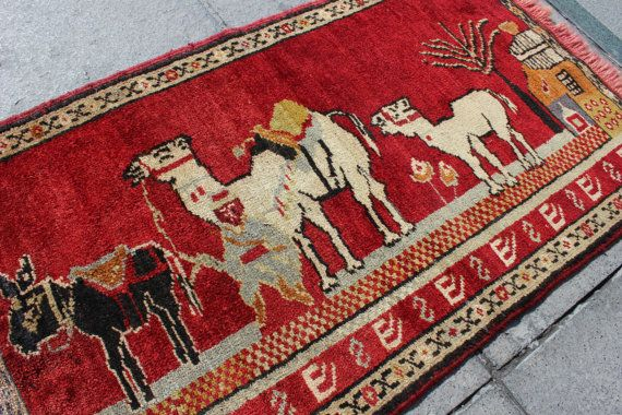 Traditional Handmade Anatolian Wool Carpet Rug