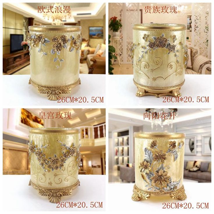 Find More Bathroom Accessories Sets Information about 2016 Banheiro Home Living Room Trash Simple And Luxurious Bathroom With No Cover Retro European American Style Storage Bucket ,High Quality luxury bathroom,China european bathroom Suppliers, Cheap european style bathroom from Commodity wholesale 2 on Aliexpress.com
