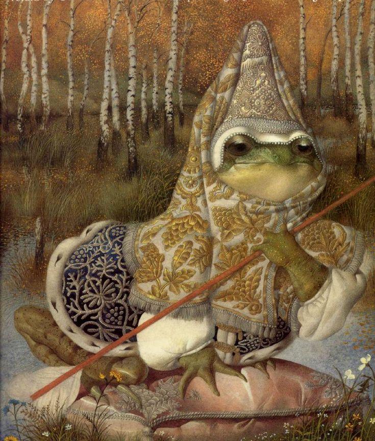 The Frog PrincessorTsarevnaFrog by Gennady Spirin.