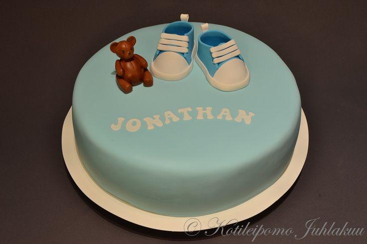 Jonathan's Christening cake