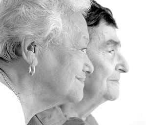Carey Leto, 90 & Venera Magazzu, 92 together 65 years. Photo by Jim Cox.
