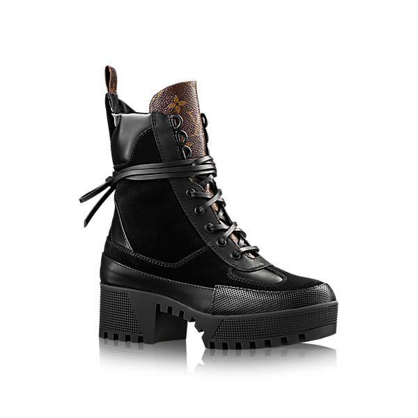 LOUIS VUITTON Laureate Platform Desert Boot. #louisvuitton #shoes #