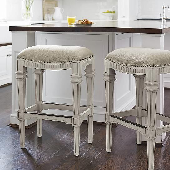 White Counter Height Chairs