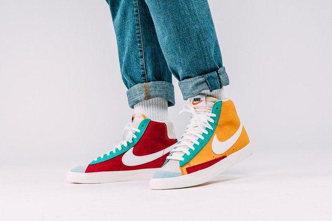 RT @SOLELINKS: Ad: RESTOCK via End Nike Blazer Mid 77 Vintage ...