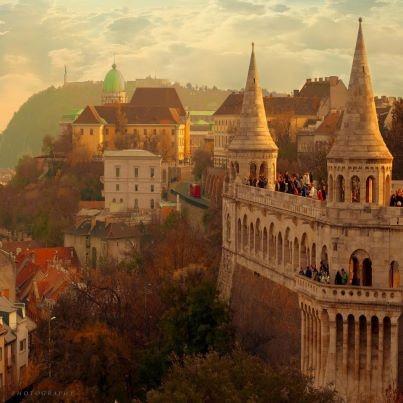 Fisherman's Bastion, Buda Castle, Budapest