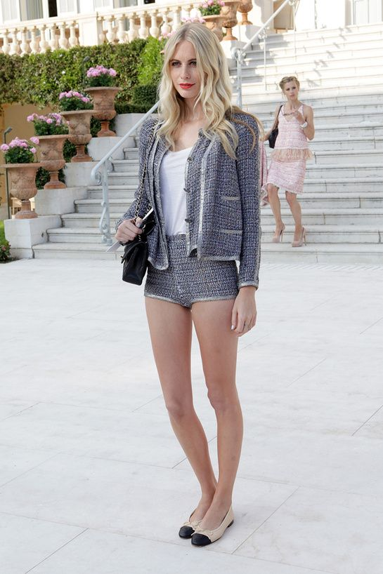 Love this look: Chanel Suit, Poppy Delevigne // Model off duty.  (follow amber_chloe on instagram)