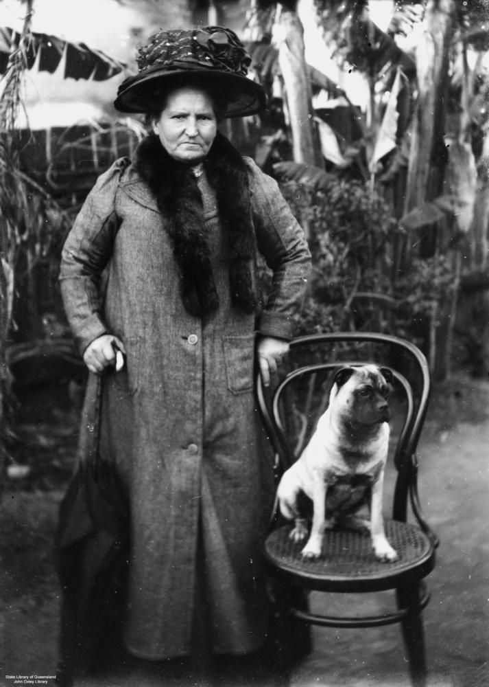 File:StateLibQld 1 183623 Portrait of a woman and her dog, 1900-1910.jpg