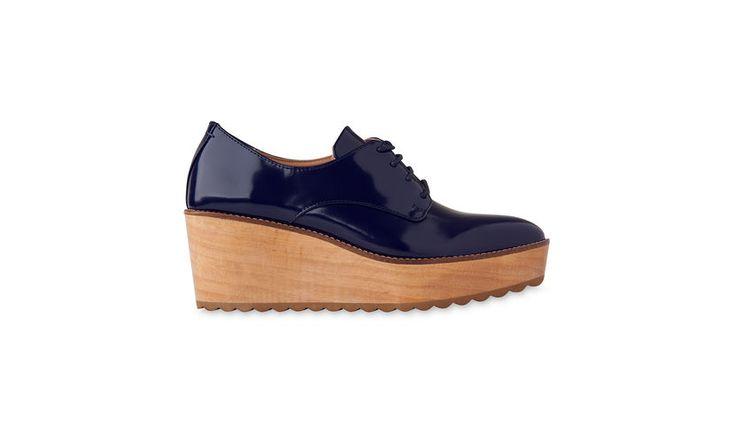 Ko Wood Lace Up Shoe